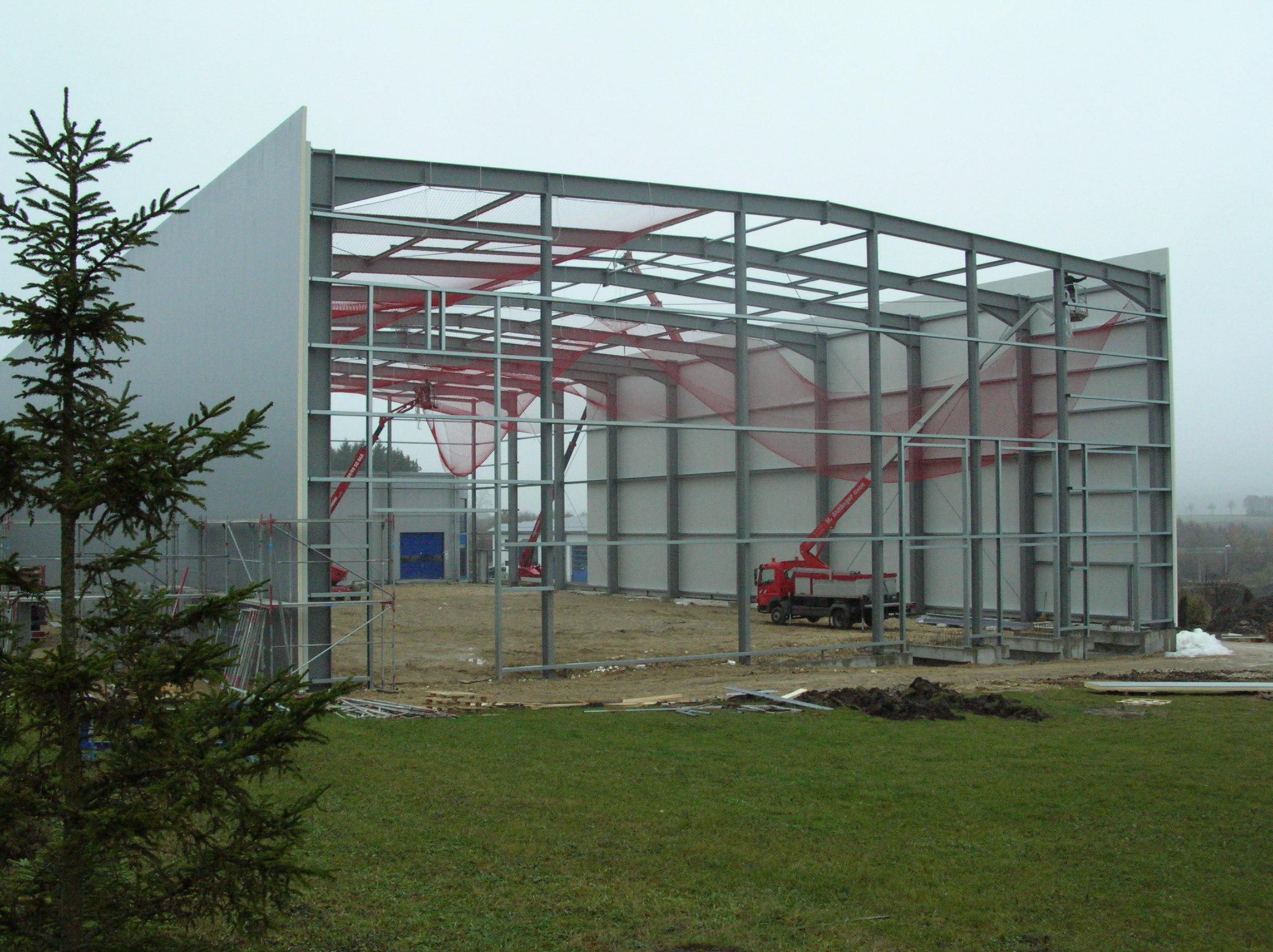 Lagerhalle, Monheim - Hausmann Stahlbau